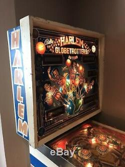 Bally Pin Ball Machine Harlem Globetritters