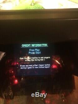 Bally Revenge From Mars Pinball Machine Full Size Arcade Game