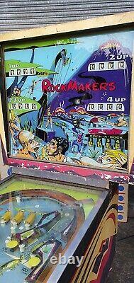 Bally Rock Makers 4 Player Pinball