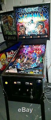 Bally STRANGE SCIENCE 1986 classic arcade pinball full working rare LEDs