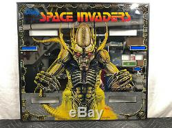 Bally Space Invaders Inner Mirrored Pinball Machine Game Backglass