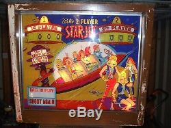 Bally Star-jet Pinball Machine 1963