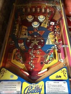 Bally Supersonic vintage arcade pinball machine