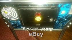Bally TWILIGHT ZONE arcade pinball good working order