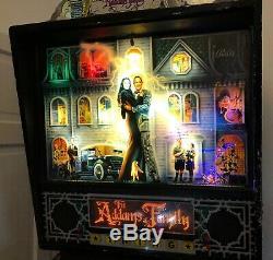 Bally The Addams Family pinball TAF