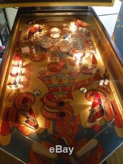 Bally Wizard Pinball Machine