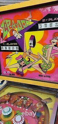Bally Zip A Do Pinball