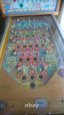 Bally bingo pinball machine Carnival Queen