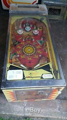 Bally pinball machine Firecracker spares or major restoration project
