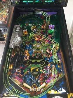 Batman Forever pinball Machine New Colour monitor