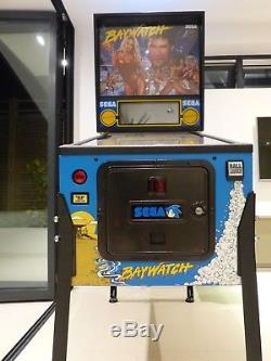 Baywatch pinball machine Sega 1996