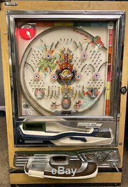 Beautiful Nishijin Vintage Model B Pachinko Machine, in clean working condition