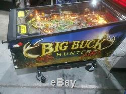 Big Buck Hunter Pinball Machine Stunning Design & Gameplay