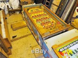 Bingo Pinball Machine Vintage Bally 1960 Circus Queen