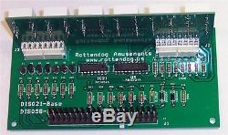 Brand New DIS021 6 Digit display board set of 5 for Bally/Stern pinball machines