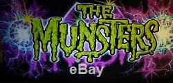 COLOR CHANGING TOWERS (TOWERS ONLY) MUNSTERS Pinball Machine Topper Custom Made