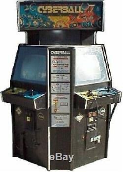 CYBERBALL 2072 TOURNAMENT ARCADE MACHINE by ATARI (Excellent Condition) RARE