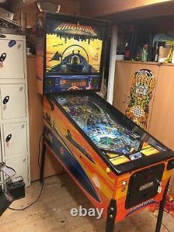 Capcom Airborne Pinball Machine