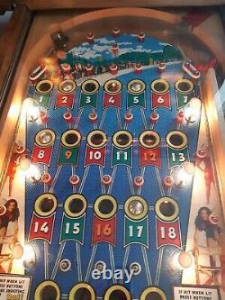 Carioca Beach Bingo Pinball Machine