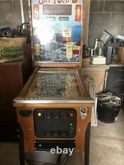 Carioca. Belgium Bingo Pinball Machine
