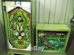 Chicago Coin Pirate Gold Vintage Em Pinball Machine For Spares / Repair