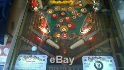 Classic Bally Eight Ball Deluxe Limited Edition Pinball Machine with Upgrades
