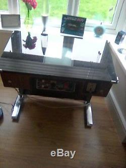Collectors item original taito retro table pub machine space invaders and more
