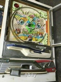 Cool Vintage Nishijin Pachinko Pinball Game Arcade Machine