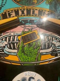 Creature From The Black Lagoon Pinball Machine CFTBL 1992 Bally Williams