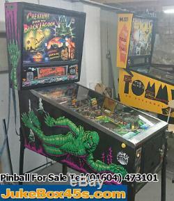 Creatures Of The Black Lagoon Pinball Machine
