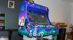 Custom Bartop Arcade Cabinet 3TB Hyperspin 24 GTX 1060 Pinball Layout