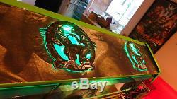 Custom Bartop Arcade Cabinet 8TB Hyperspin 24 GTX 1060, Pinball Layout