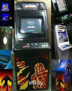 Custom Multi Arcade Video Machine Mega Original Mame Candy Cabinet & Pinball