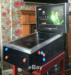 Custom built Mini Virtual digital Pinball Multi-Game machine