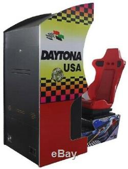 DAYTONA USA ARCADE MACHINE by SEGA 1994 (Excellent Condition) RARE