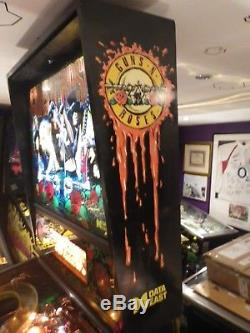 Data East Guns N Roses Arcade Pinball Machine