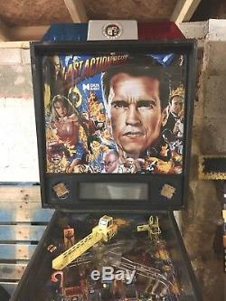 Data East Last Action Hero Arcade Pinball Machine Non Working