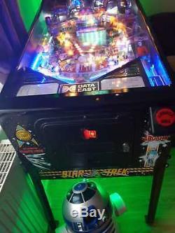 Data East STAR TREK 25th ANNIVERSARY arcade pinball game machine pub man cave