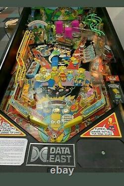 Data East Simpsons Pinball Machine