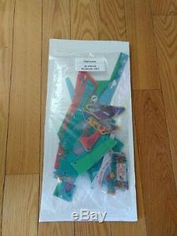 Data East Simpsons Pinball Machine 21Piece Plastic Set
