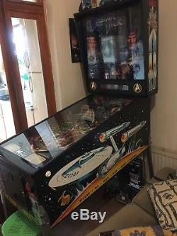 Data East Star Trek 25th Anniversary Pinball Machine Good Condition working