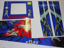 Data East Star Wars Cabinet Pinball Machine Art never used