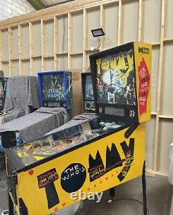 Data East Tommy Pinball Machine Fully Working Collectible Flipper