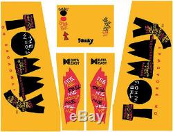 Data East Tommy the Who Pinball Machine Cabinet Decals NEXT GEN