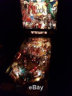Data east Hook pinball machine 1992