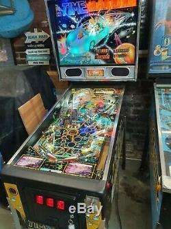 Data east time machinePinball machine