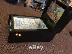 Deluxe Mini Virtual Pinball Machine Pure Black