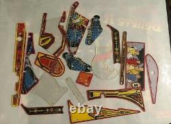 Doctor Who playfield plastic set for Dr Who pinball machine