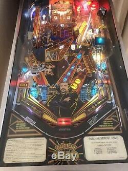 Dr Who Bally Pinball Machine