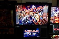 EXCELLENT STERN 2018 IRON MAIDEN Pro Arcade Pinball Machine